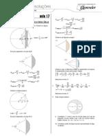 Matemática - Caderno de Resoluções - Apostila Volume 4 - Pré-Universitário - mat2 aula17