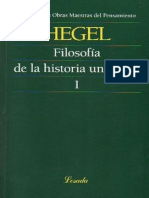 Hegel, G.W.F. - Filosofia de La Historia Universal I