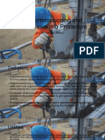 Precommissioning and Commissioning Procedure