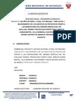 Memoria Descriptiva Arquit Defensa Ribereña Rio Huallaga