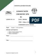 Lesson Note 4g 30 August 2016 Acid Base Experiment