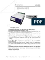 2. Pemeliharaan Inverter