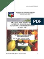 Metodos Apropiados Para Evitar El Deterioro en Alimentos