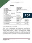 Syllabus 16 17 TECNOLOGIAS Dra. Mercedes García