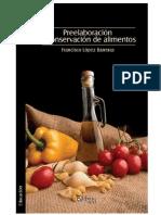 Libro de Preelaboracion y Conservacion de Alimentos