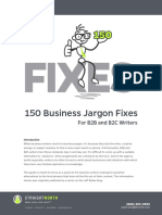 150 Business Jargon Fixes