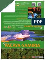 Mapa de la  Reserva Nacional Pacaya Samiria