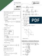 Matemática - Caderno de Resoluções - Apostila Volume 4 - Pré-Universitário - mat5 aula18