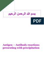 Antigen-Antibody Precipitation Test