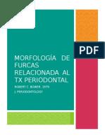 3 Morfología de Furcas Relacionada Al TX Periodontal