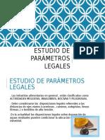 Estudio de Parámetros Legales