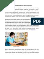 10 Manfaat Internet Secara Umum dan Pengertian.docx