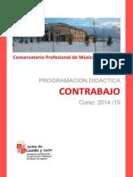 Programacion CONTRABAJO 14-15
