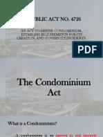 Condominium Report