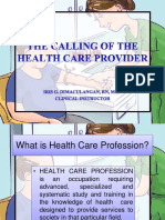 38436637 the Calling of the Health Care Provider