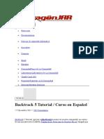 Backtrack 5 Tutorial  Curso en Español.doc