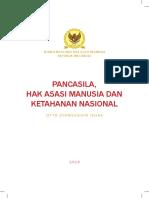 Buku Pancasila Ham Dan