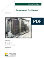 Evaporative Pre Cooler