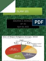 Islam 101 by Prof. Macrina Morados