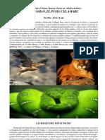 El Wáman, El Puma y El Amaru de Javier Lajo
