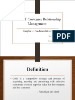 Chapter 1 - Fundamentals of Crm