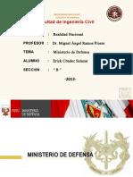 Ministerio de Defensa-Exposicion