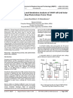 Real Time Monitoring and Simulation Analysis of 30WP off Grid Solar Rooftop Photovoltaic Power Plant