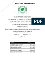 1) Informe - Concreto 2017-1