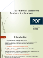 Accounting and Financing - Reading 33 Updated