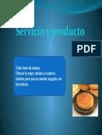 Servicio y producto