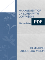 Ria Sandy Deneska, Management of Children With Low Vision
