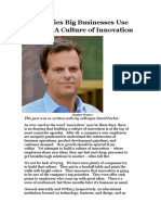 5 Strategies Big Businesses Use To Build A Culture of Innovation.docx