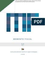 Mémento Fiscal 2017