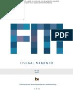 Fiscaal Memento 2017