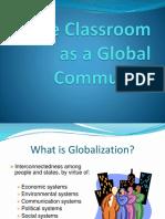 Classroom as Globalcommunity