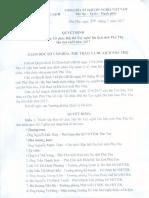 QĐ 316/QĐ-SVHTTDL về việc thành lập Ban Tổ chức Hội thi Tay nghề Du lịch tỉnh Phú Thọ