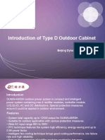 Introduction of Type D Outdoor Cabinet