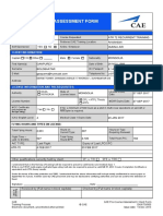 Pre-Course Assessment Form v3 Fillable Vect