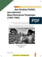 Bab 3 Sistem Dan Struktur Politik Dan Ekonomi Masa Demokrasi Terpimpin (1959-1965).Rtf.rtf
