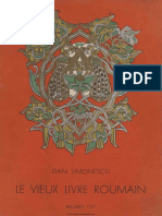 SIMONESCU, D., Le Vieux Livre Roumain