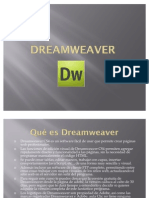 Dream Weaver Diapositivas de Kevin Vasquez Saavedra