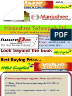 Manjushree Technopack Ltd (Code 532950) - HBJ Capital's (MPS Unit) Value Pick Stock Reco of Dec'09