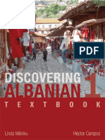 01 Discovering Albanian 1 Textbook