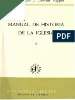 Jedin, Hubert - Manual de Historia de La Iglesia 09-01