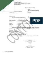 Contoh Surat Permohonan Ganti Email Perusahaan LPSE