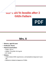 GLP 1 vs Insulin After 2 OADs Failure CME Final