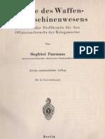 Chemie des Waffen- und Maschinenwesens - Siegfried Paarmann