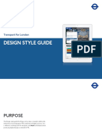Design Style Guide - London Transport