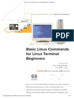 Basic Linux Commands for Linux Terminal Beginners _ PCsteps