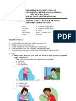 Soal Kelas 2 Tema 2 Sub Tema 4
